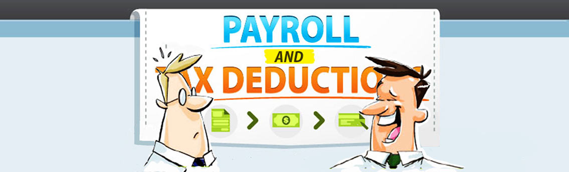 Payroll and Tax Deductions Infographic