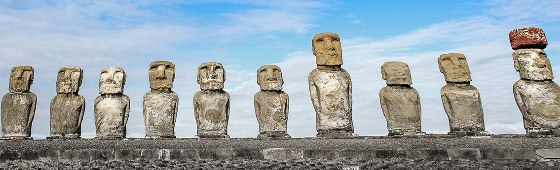 Stone Heads of Easter Island