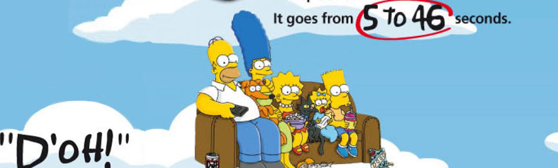 The Simpsons - TV Show Infographic
