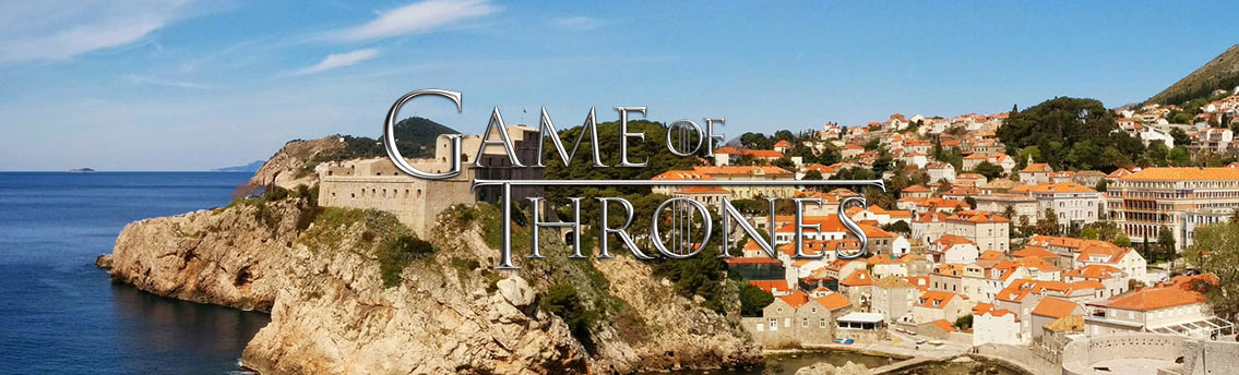 Travel Locations Game of Thrones Infographic