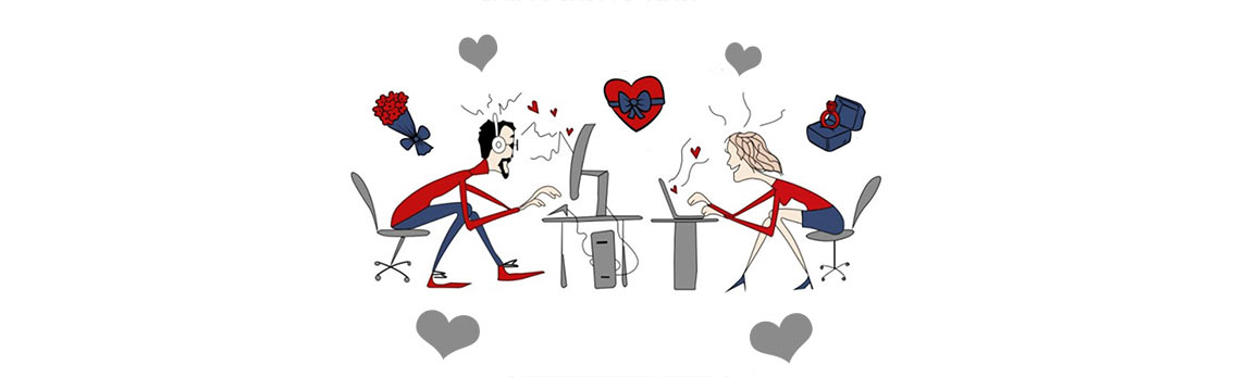 Dating Long Distance Relationship Infographic