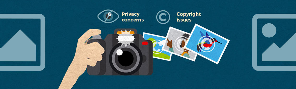 Photographers Privacy and Copyright Law Infographic