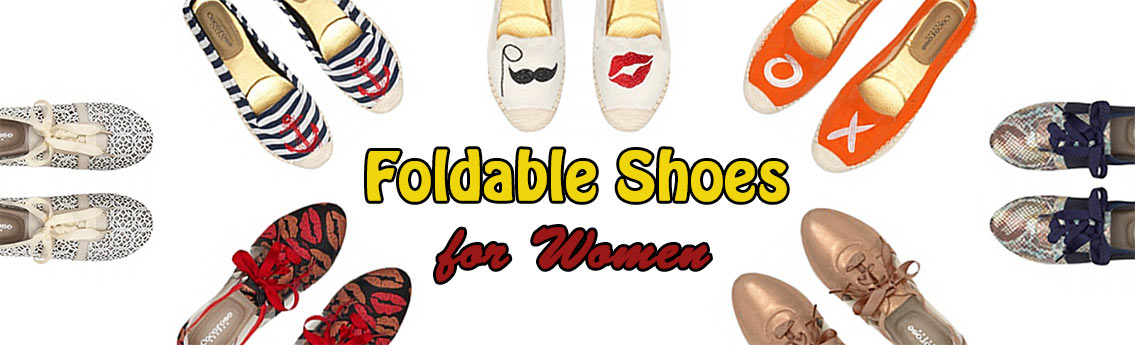 Fashionable Foldable Shoes for Women