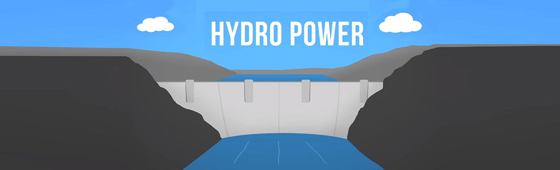 How Hydroelectricity Works Infographic