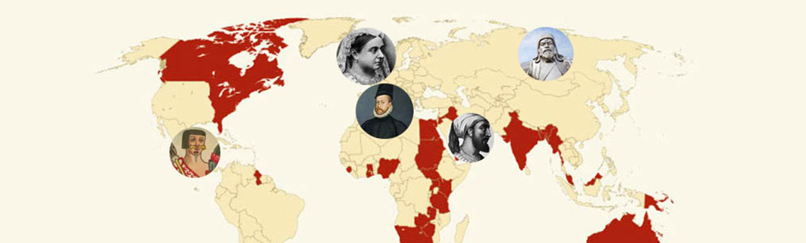 Mapping the Biggest Empires throughout History