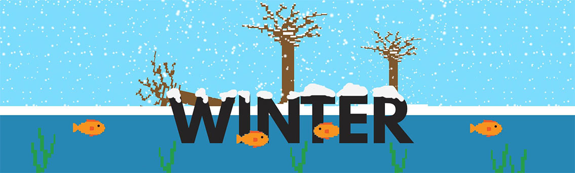 How Do Fish and Plants Survive During Winter Infographic