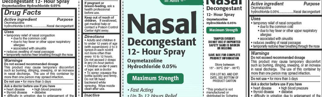 Chemistry of Decongestants Infographic