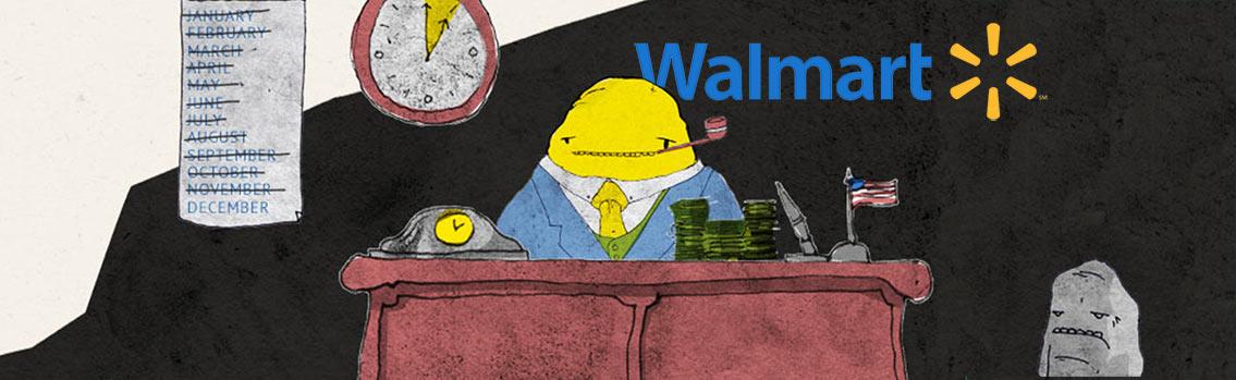 Weight of WalMart Business