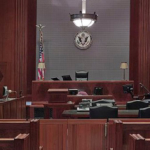 The Inside Workings of a U.S. Courtroom