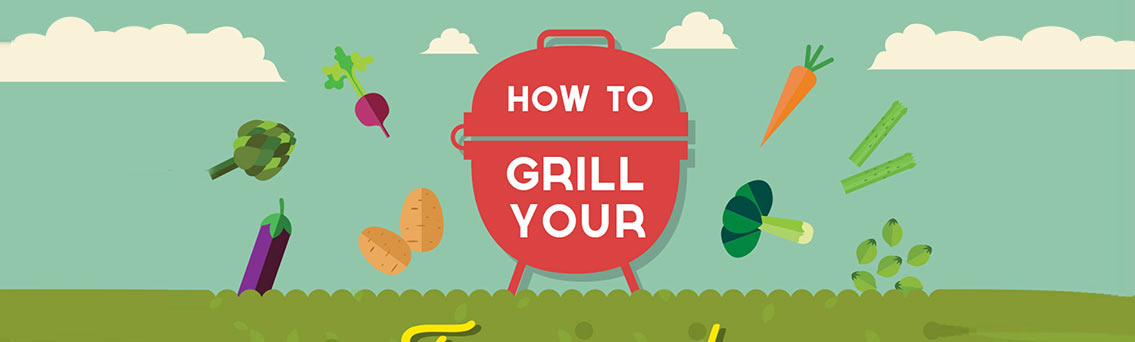 How to Grill Vegetables Infographic