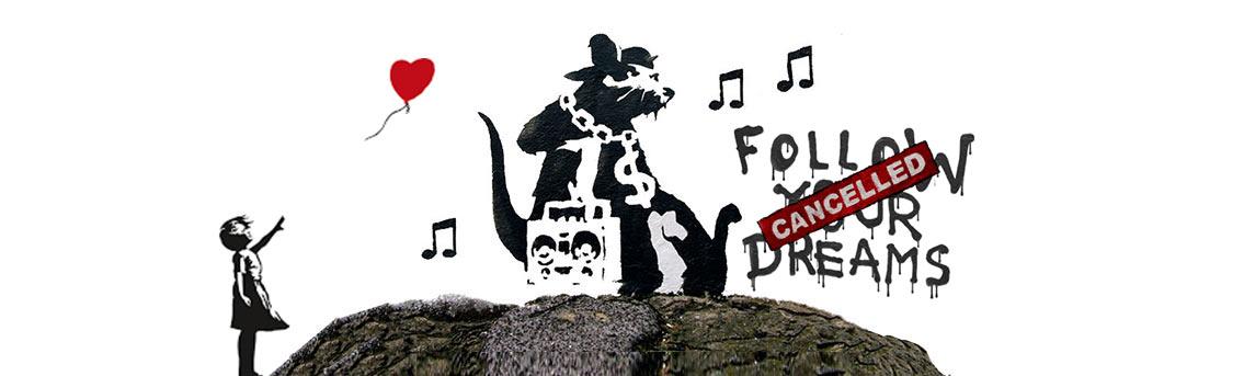 Banksy Graffiti Art Names Locations