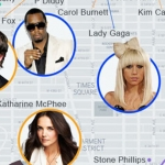 Celebrity Map: Plotting the Celebrities Who Live in NYC