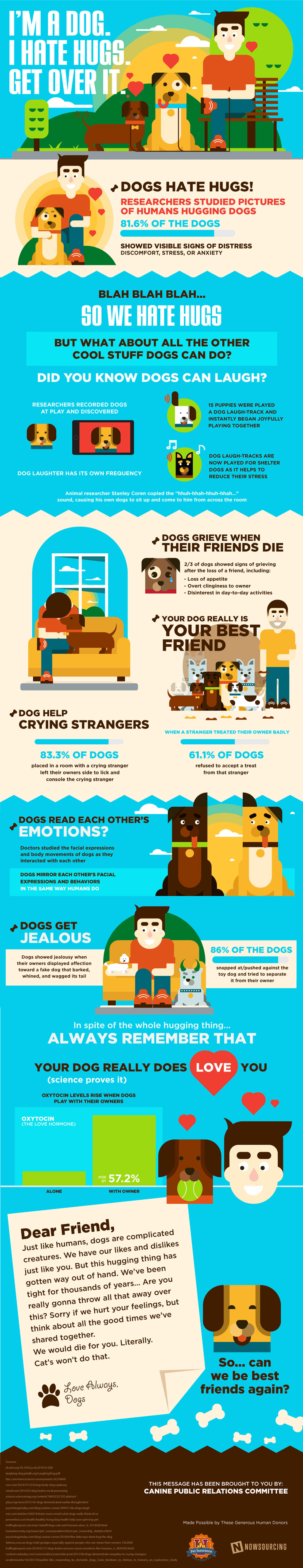 Do Dogs Like to be Hugged - Pet Infographic