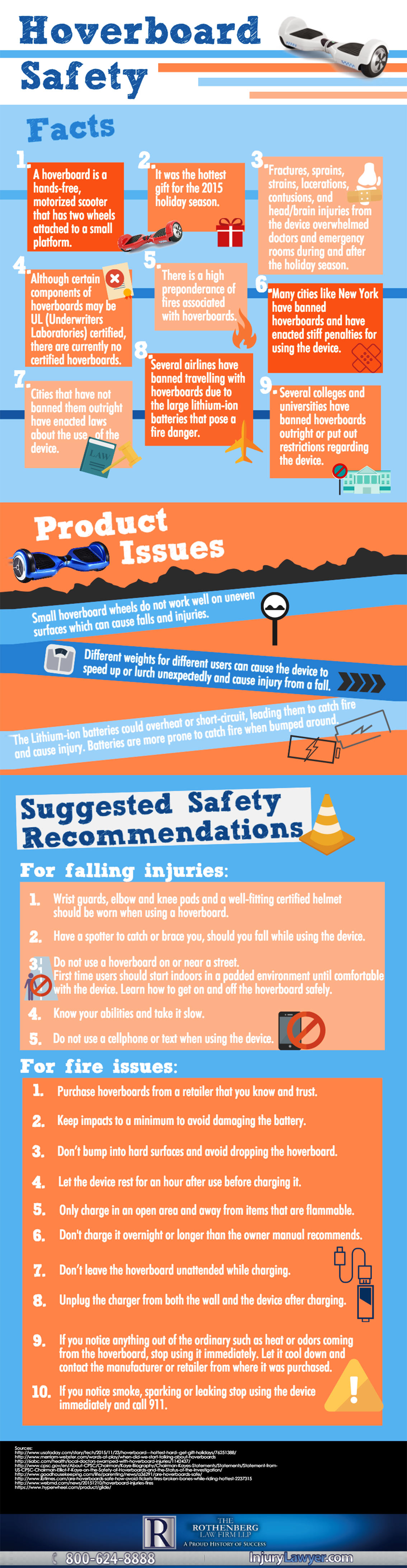 Hoverboard Safety Tips Infographic