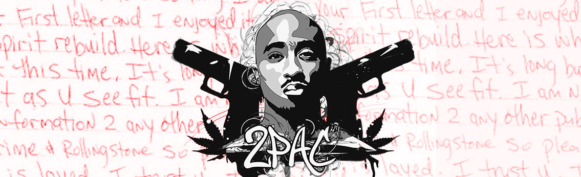 Tupac 2Pac Rapper Infographic