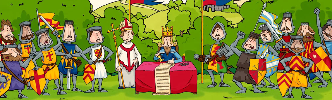 History of Magna Carta - Middle Ages Infographic