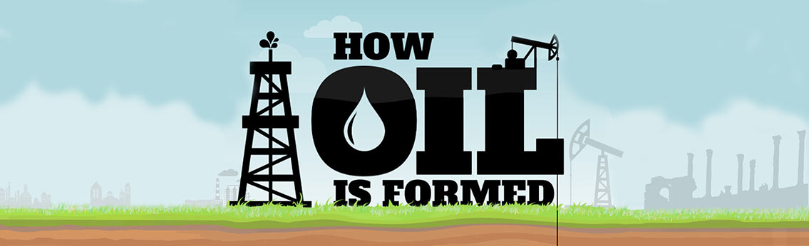 Origin of Oil Infographic