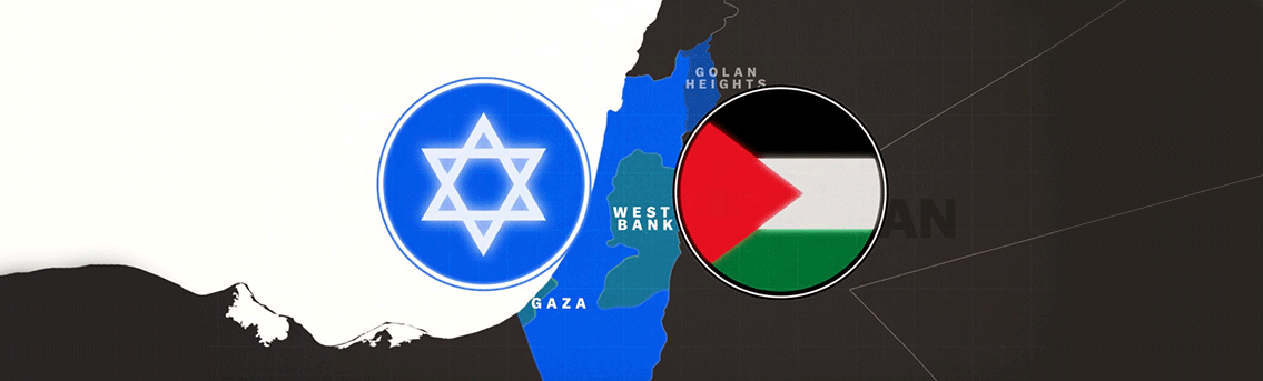 History of Israel-Palestine Conflict - War Infographic