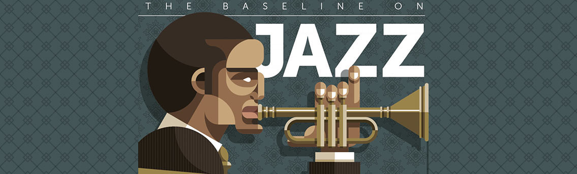 the history of jazz music An american style of jazz music originating in the 1930's typically characterized by big band instrumentation, a greater emphasis on solo passages, and a 4/4 tempo with an almost even emphasis on each beat of the measure.