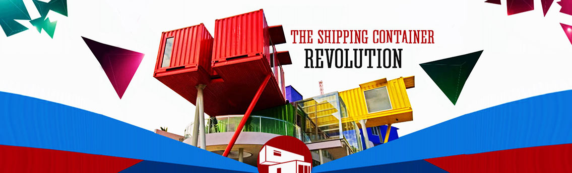 Building Commercial Offices and Houses with Shipping Containers